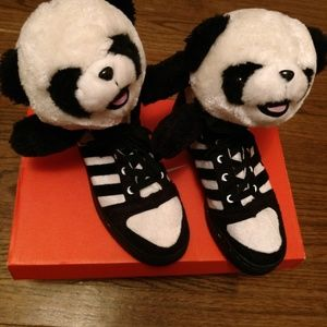 lowest price ad487 ad5c9 Jeremy Scott Panda Adidas sneakers size 6.5